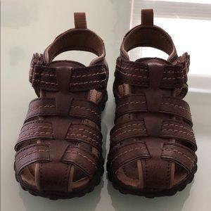 Toddler boy saddle shoes